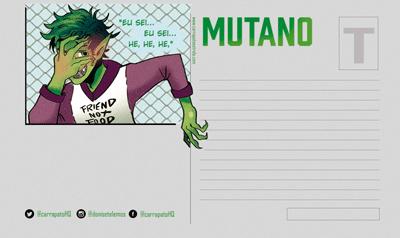 Postal Mutano Verso